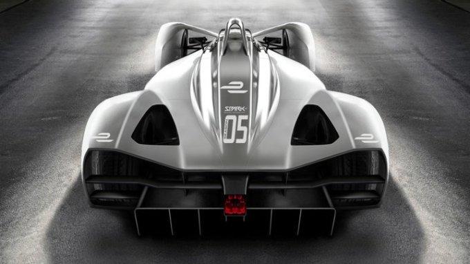 Spark - Concepto de Automóvil - 5ta Temporada Fórmula E