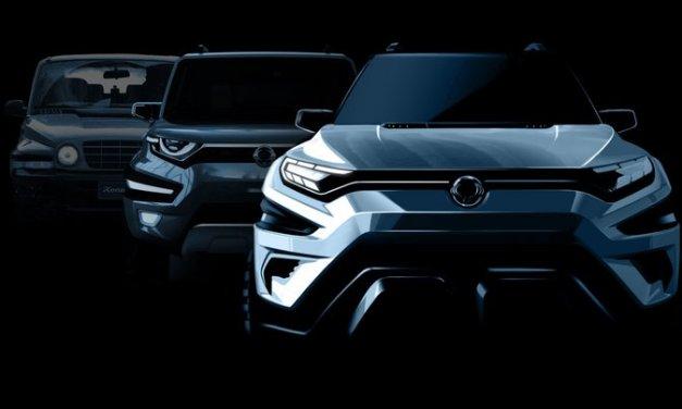 SsangYong XAVL, concepto de SUV que será presentado en el Auto Show de Ginebra