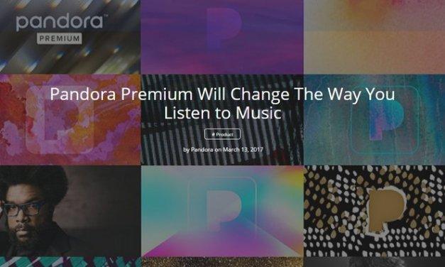 Lanzan Pandora Premium, música bajo demanda a 9,99 dólares al mes