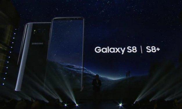 Samsung anunció los smartphones Galaxy S8 y Galaxy S8+ – Características Principales y Especificaciones