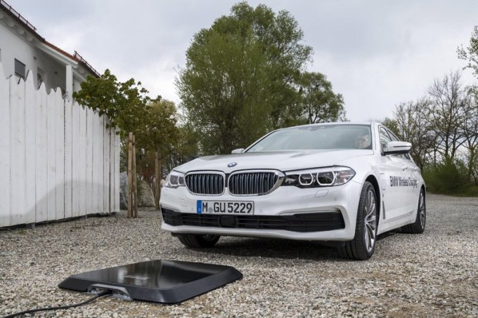 BMW 530e iPerformance Carga Inalámbrica