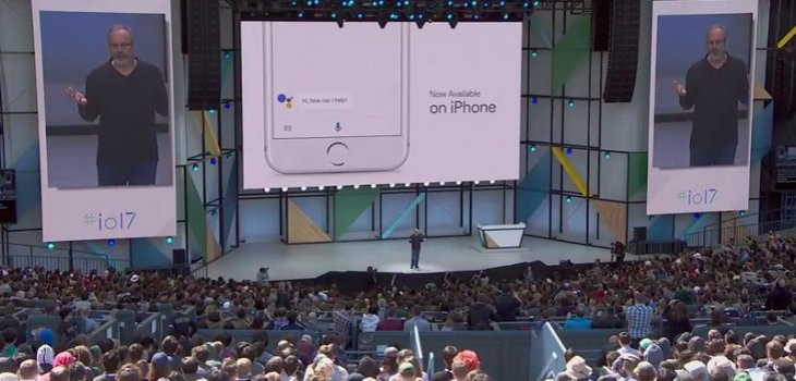 Google I/O 2017 - Google Assistant iPhone