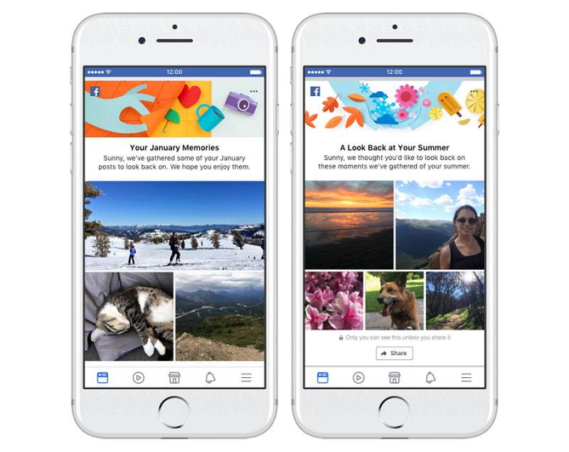 Facebook - Memorias Mensuales y de Temporada