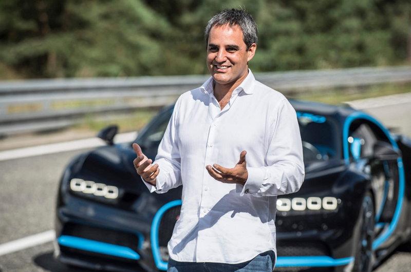 Bugatti Chiron - Juan Pablo Montoya
