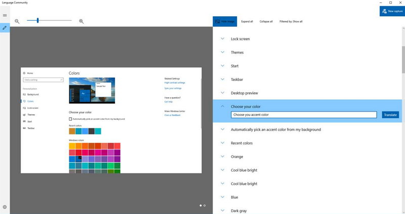 Laguage Community - Windows 10