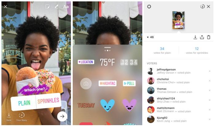 Historias de Instagram - Encuestas