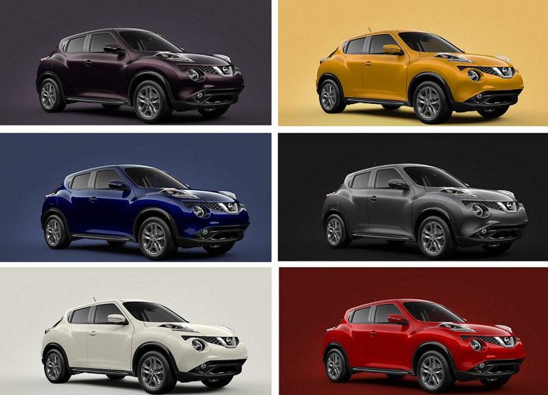 Nissan Juke - Colores