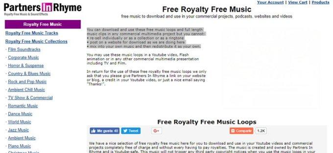 Partners in Rhyme - Música Gratis