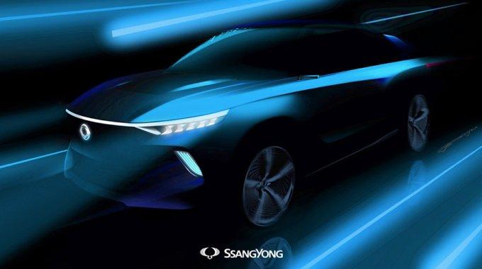 SsangYong e-SIV
