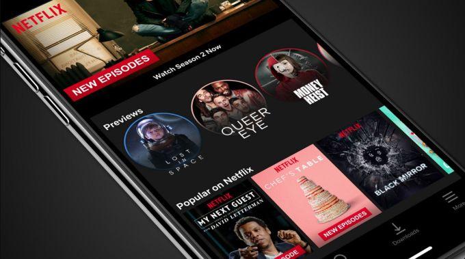Netflix - Vista Previa