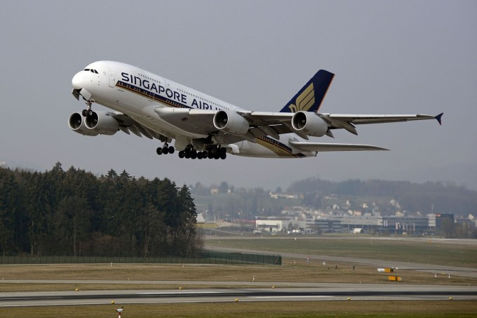 Singapore Airlines - 10 mejores aerolíneas del mundo