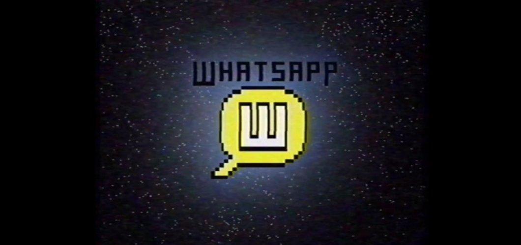WhatsApp en los 80s