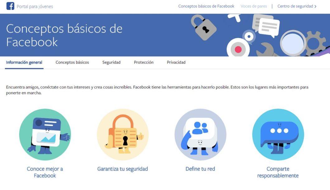 Facebook - Portal para Jóvenes - Conceptos Básicos