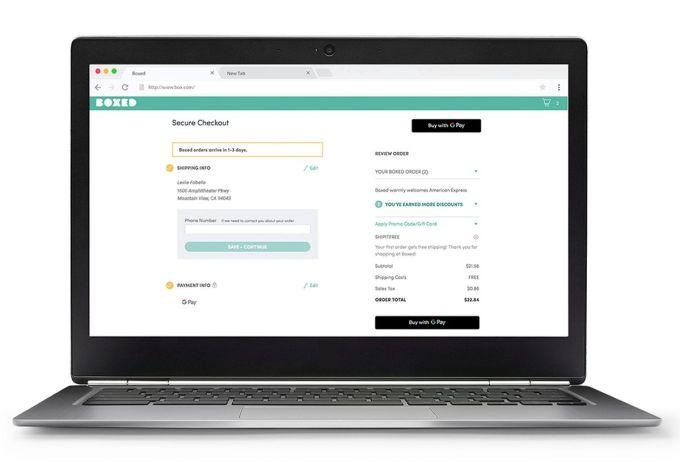 Google Pay Desktop