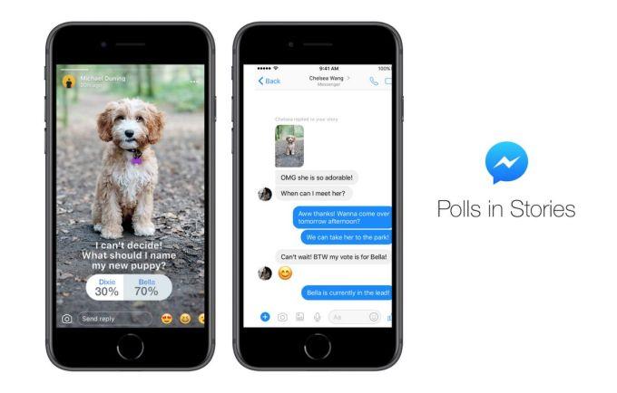 Historias de Messenger - Encuestas