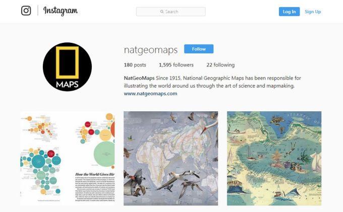 NatGeoMaps - National Geographics Mapas