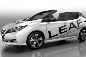 Nissan LEAF descapotable