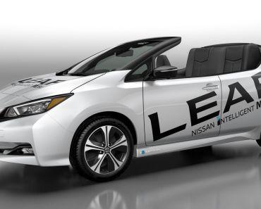 Nissan LEAF descapotable