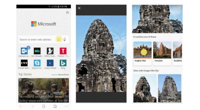 Microsoft Bing - Buscador Visual
