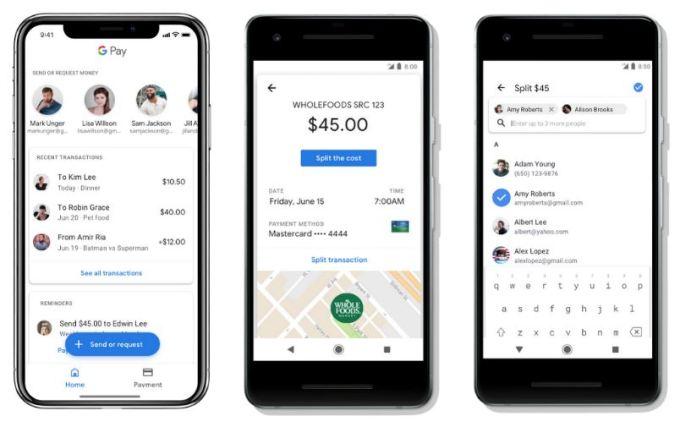 Google Pay - Enviar y Requerir Dinero