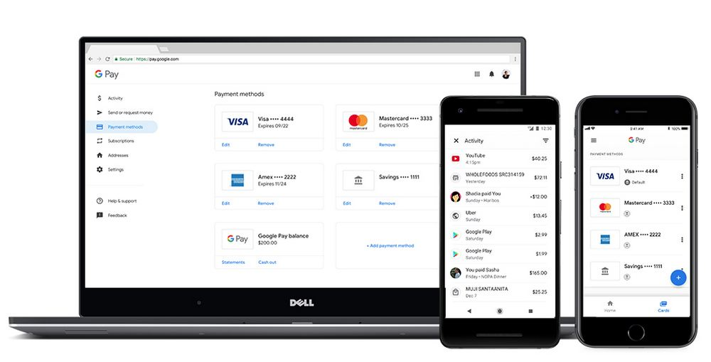 Google Pay Web - iOS - Android