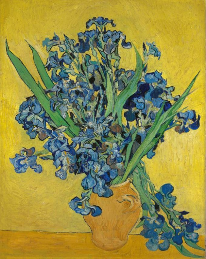Lirios - Van Gogh - Museum
