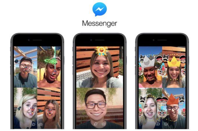 Facebook Messenger - Juegos de Realidad Aumentada