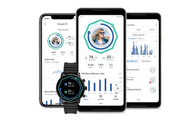 Google Fit - Android - Wear OS