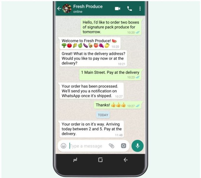 WhatsApp - API para Empresas