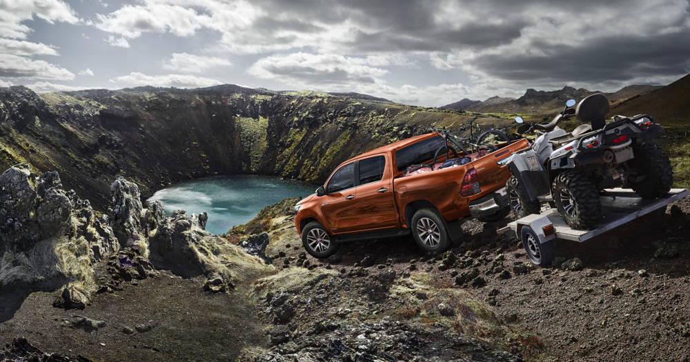 Nueva Toyota Hilux Legend, tomando como referencia a la Tacoma americana