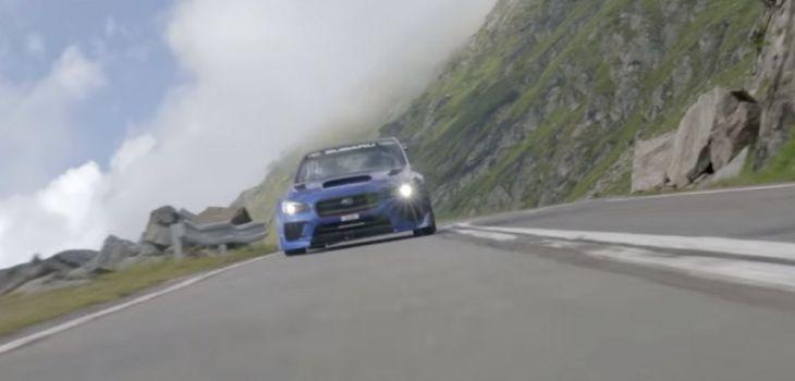 Subaru WRX STI Type RA - Record en el Paso de Transfagarasan, Rumania