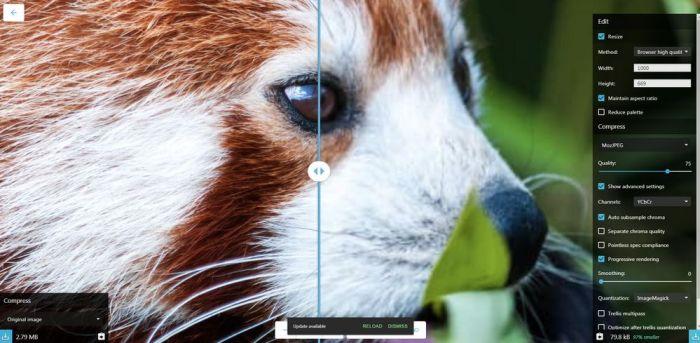 Google Chrome Labs lanza una excelente herramienta para convertir imágenes: Squoosh