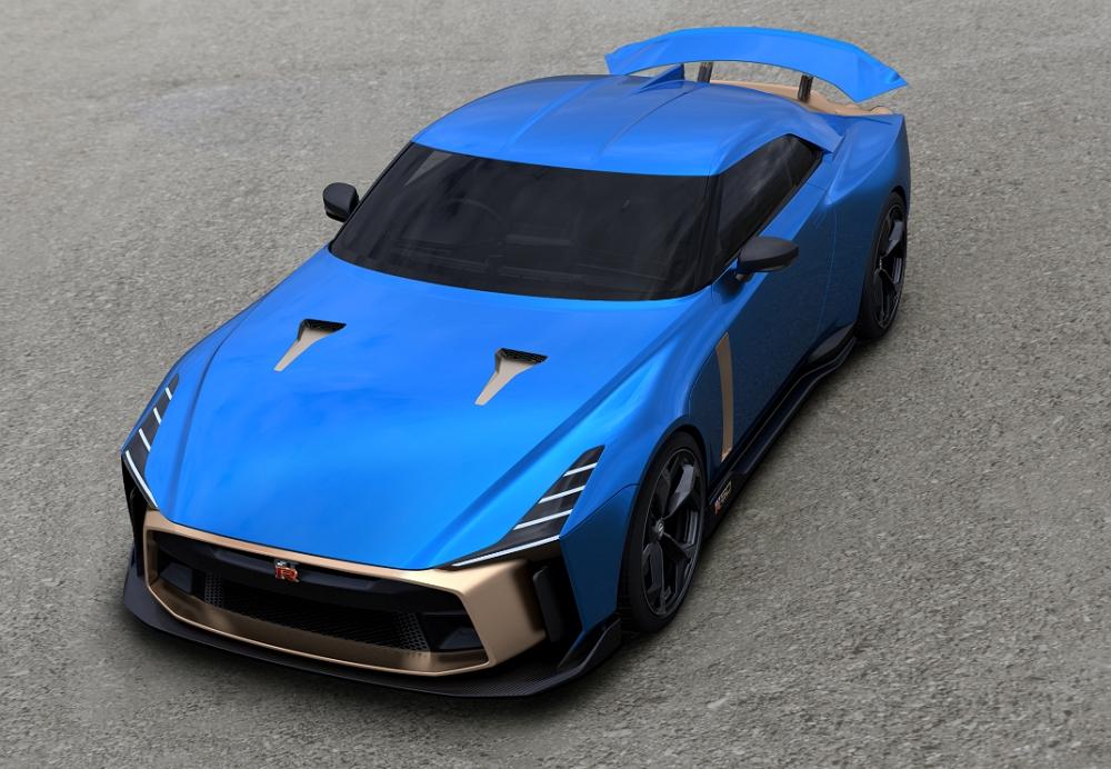 Nissan confirma la producción en serie del espectacular GT-R50 de Italdesign