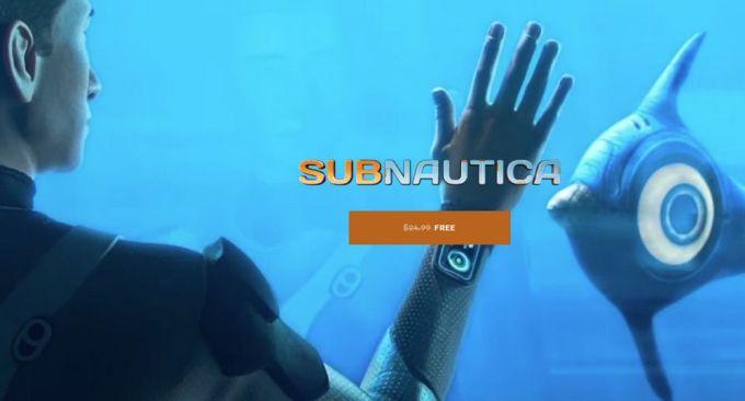 Epic Games Store - Subnautica