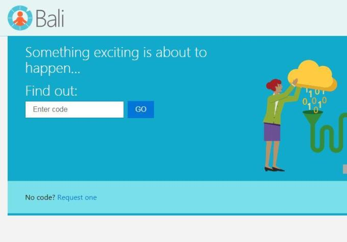 Microsoft Proyecto Bali