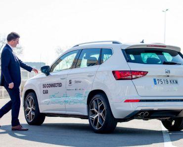SEAT - Vehículo Conectado con Tecnología 5G