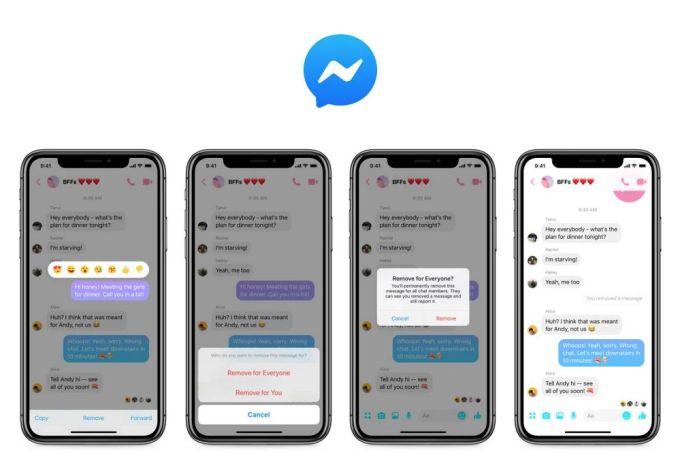 Facebook Messenger - Borrar Mensajes Enviados