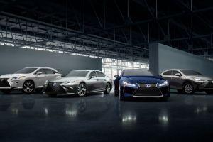 Lexus RX 450h, NX 300h, LC 500h y LS 500h