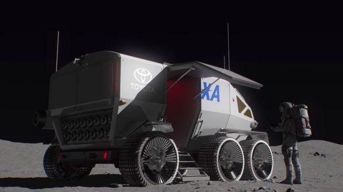 Toyota construirá un rover autónomo para la Agencia Japonesa de Exploración Aeroespacial 1