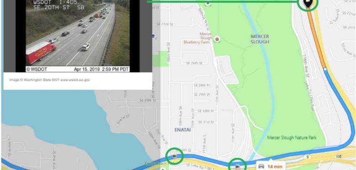 Bing Maps - Cámaras de Tráfico