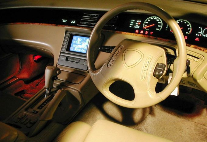 Mazda Eunos Cosmos Navigation