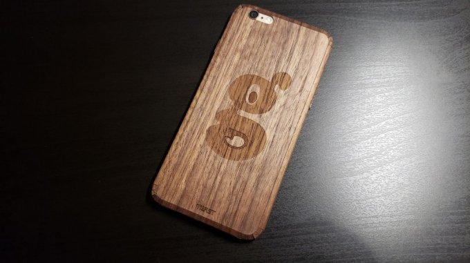 Toast - Funda tipo Skin de madera real