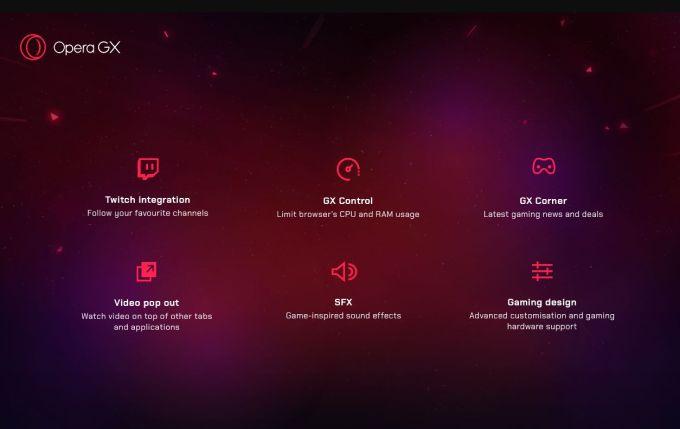 Opera GX - Navegador para Gamers