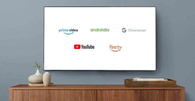 Amazon Prime Video - Youtube - Chromecast - Android TV