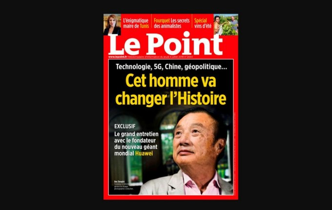 Le Point -4 de Julio 2019 - Ren Zhengfei