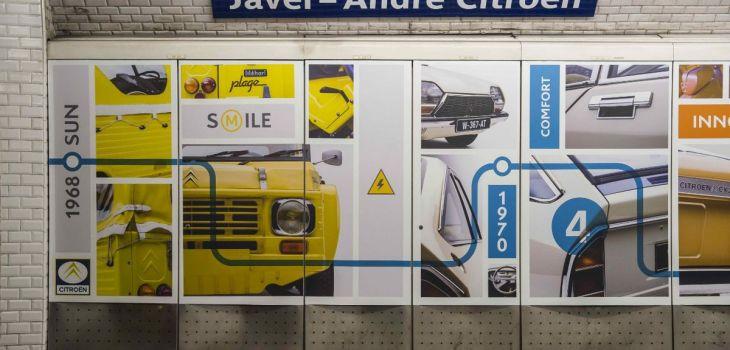 Museo Virtual Citroën - Metro de Paris