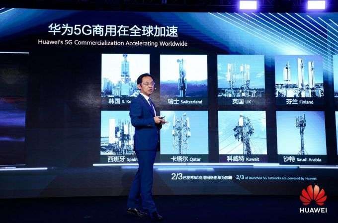 MWC Shanghái 2019 - Ryan Ding - Huawei - 5G is On
