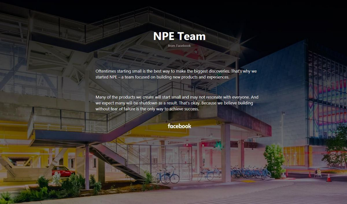Facebook- NPE Team
