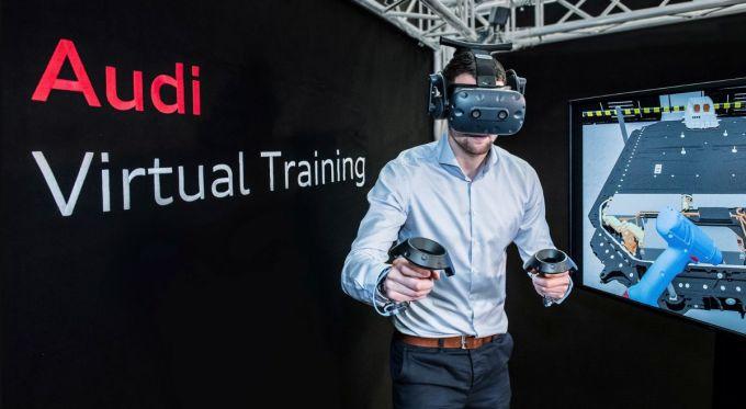 Audi - Virtual Training - Realidad Virtual