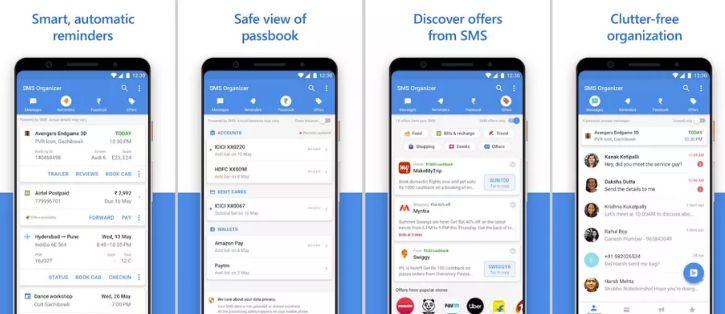 Microsoft SMS organizer para Android ahora disponible en más regiones